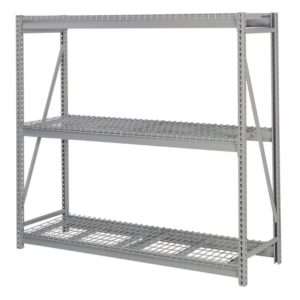 Lyon Bulk Storage Rack Starter Wire Decking 3 Level