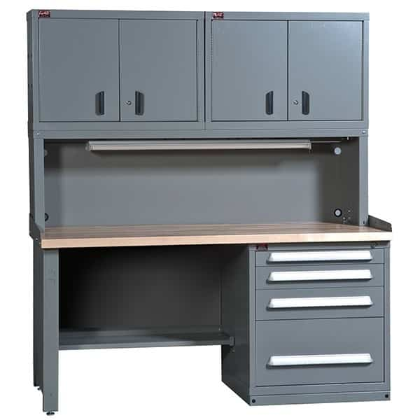Super Concept 13 Closed Standard Workbench With Bookcase Interior Design Ideas Apansoteloinfo