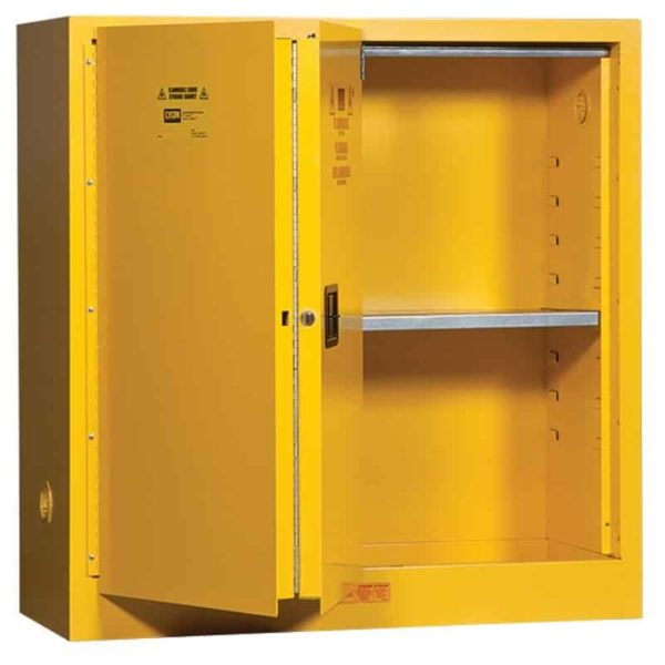 Lyon Safety Storage Flammable Cabinet R5441N Open