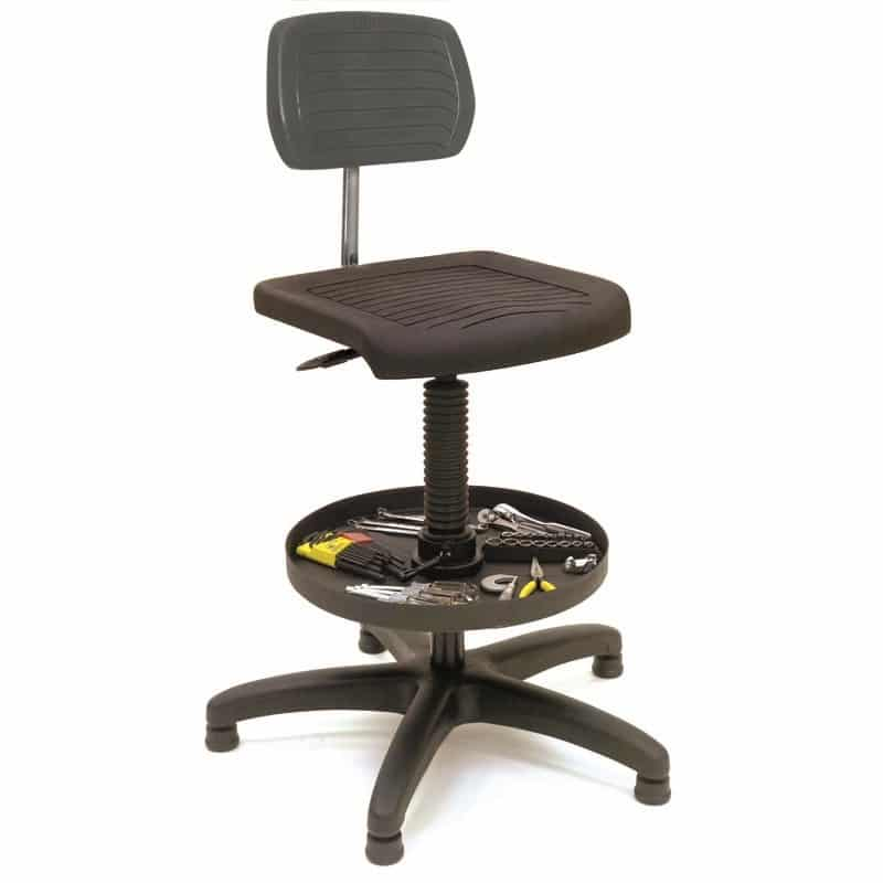 Lyon Workstation Seating Contoured Trolley Chair NF2044TC