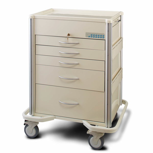 Lyon 5 Drawer Procedure Cart