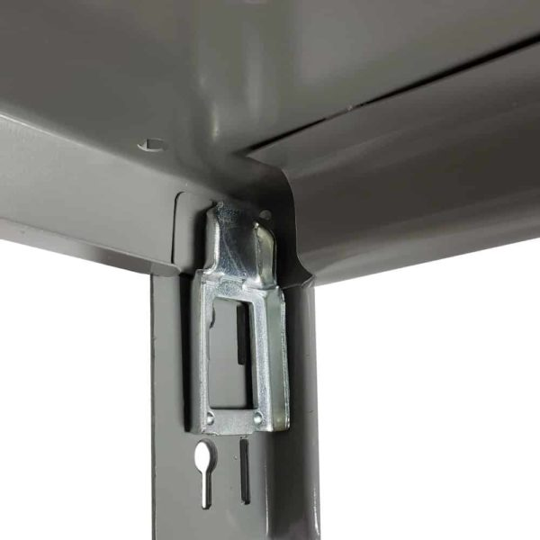 Lyon's 8000 Series Shelf Clip installs easily without tools.