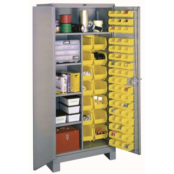 Lyon All-Welded Combination Bin Cabinet 1122