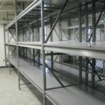 Bulk Storage Rack with Solid Decking