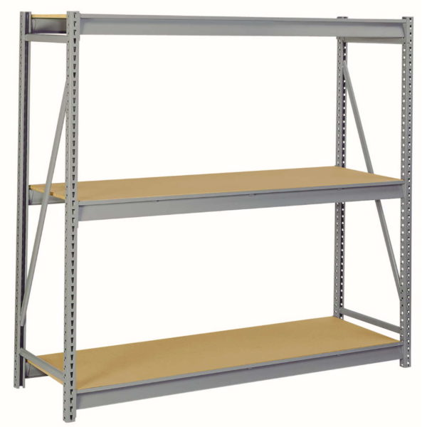 Bulk Storage Racks with Particle Board Decking