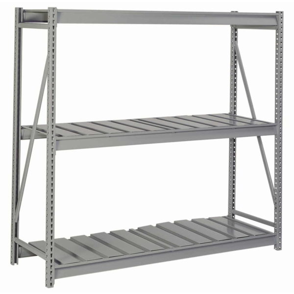 Bulk Storage Racks with Ribbed Decking