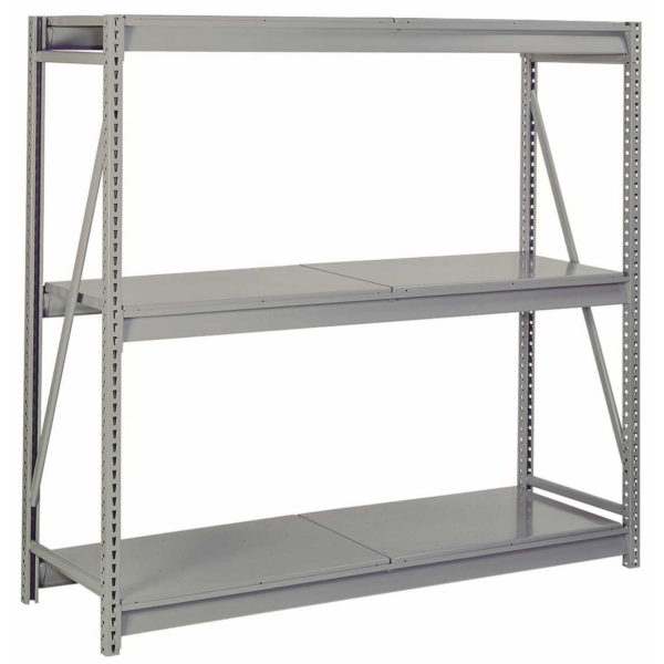 Bulk Storage Racks with Solid Decking