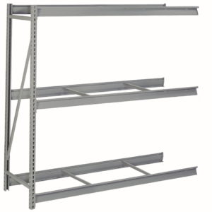 lyon bulk storage rack without decking 3 level add-on 2 supports