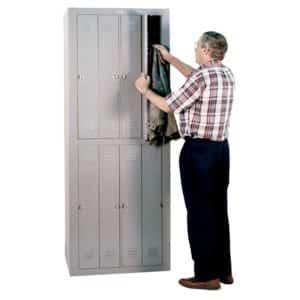 lyon exchangemaster locker personal effects locker 8 door padlock dd6308wpla