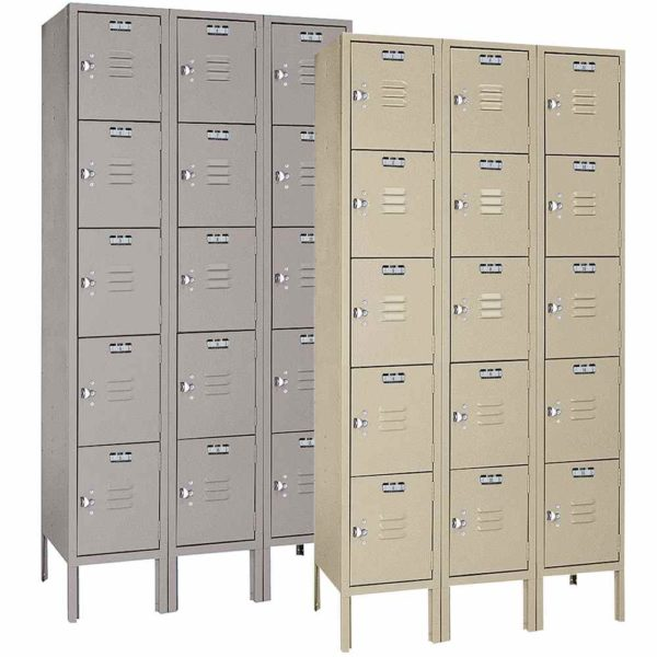 Five Tier Lockers