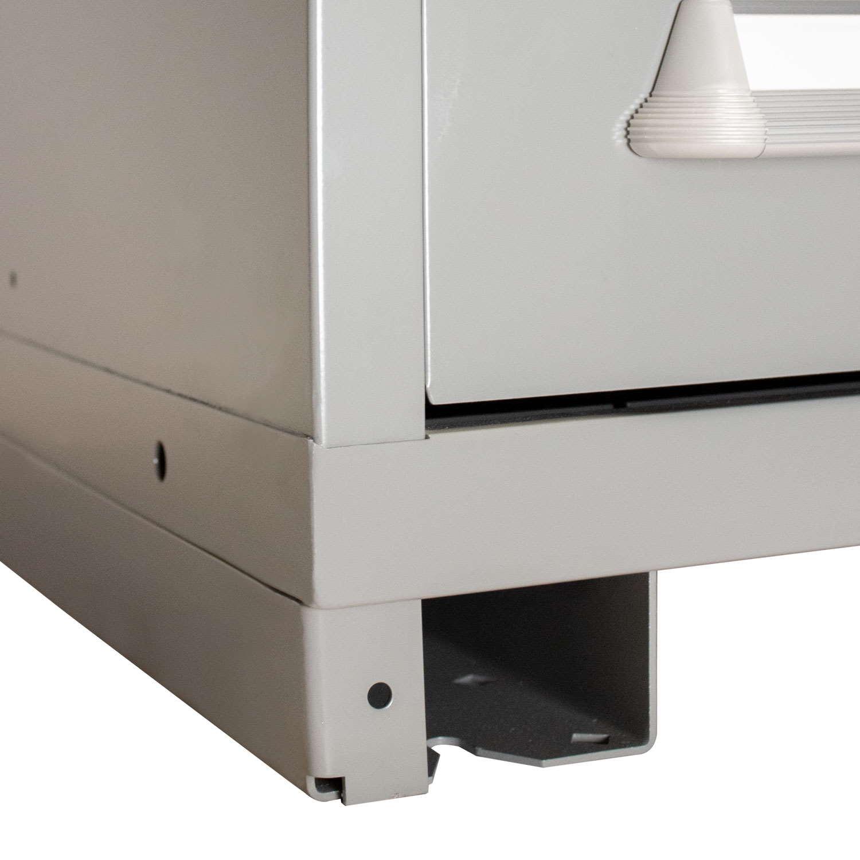 lyon modular drawer cabinet features forklift base