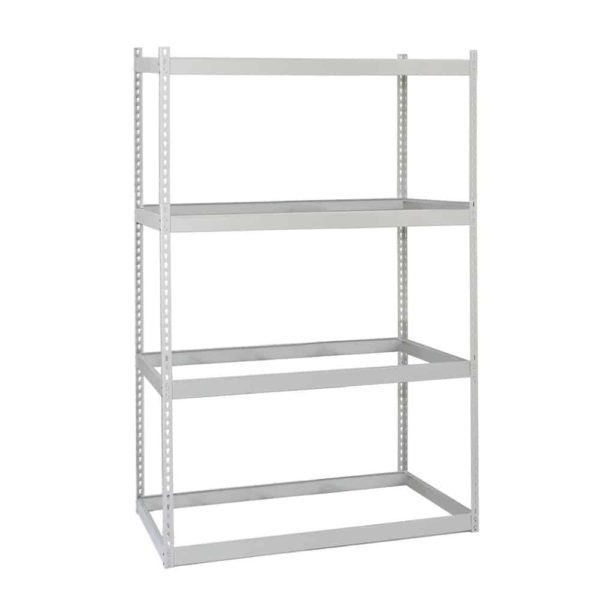 Lyon Rivet Rack 4 Level 48 inch Wide Starter