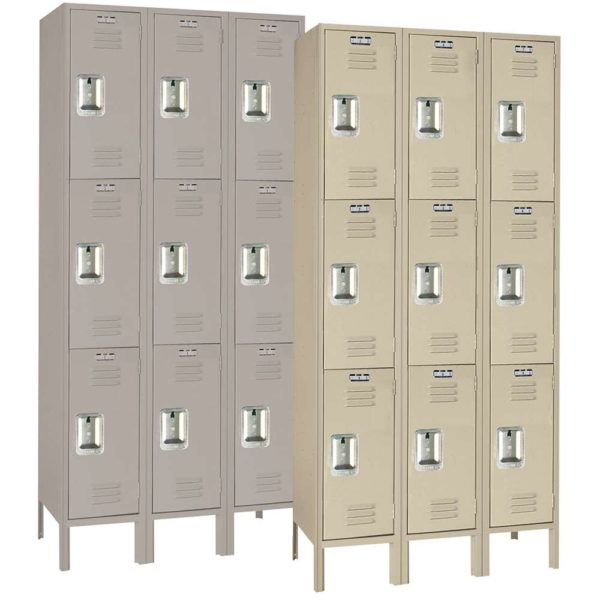 Triple Tier Lockers