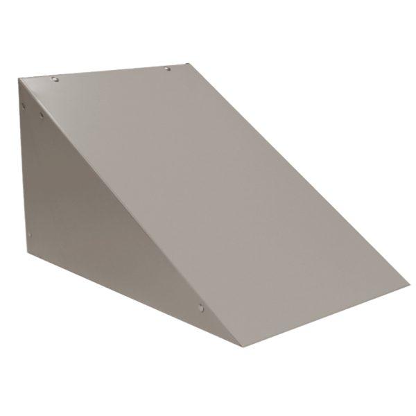 ValTec locker accessories slope top kit one wide dove gray